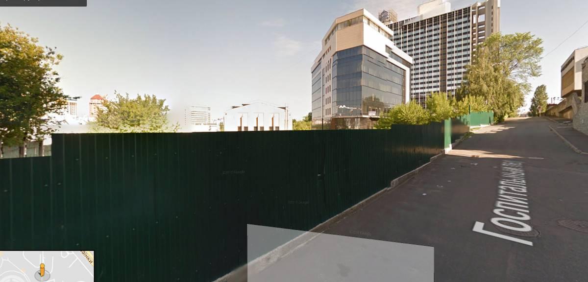 Продам 19 сот земли под офисное здание г. Киев ул. Госпитальная Печерский рн