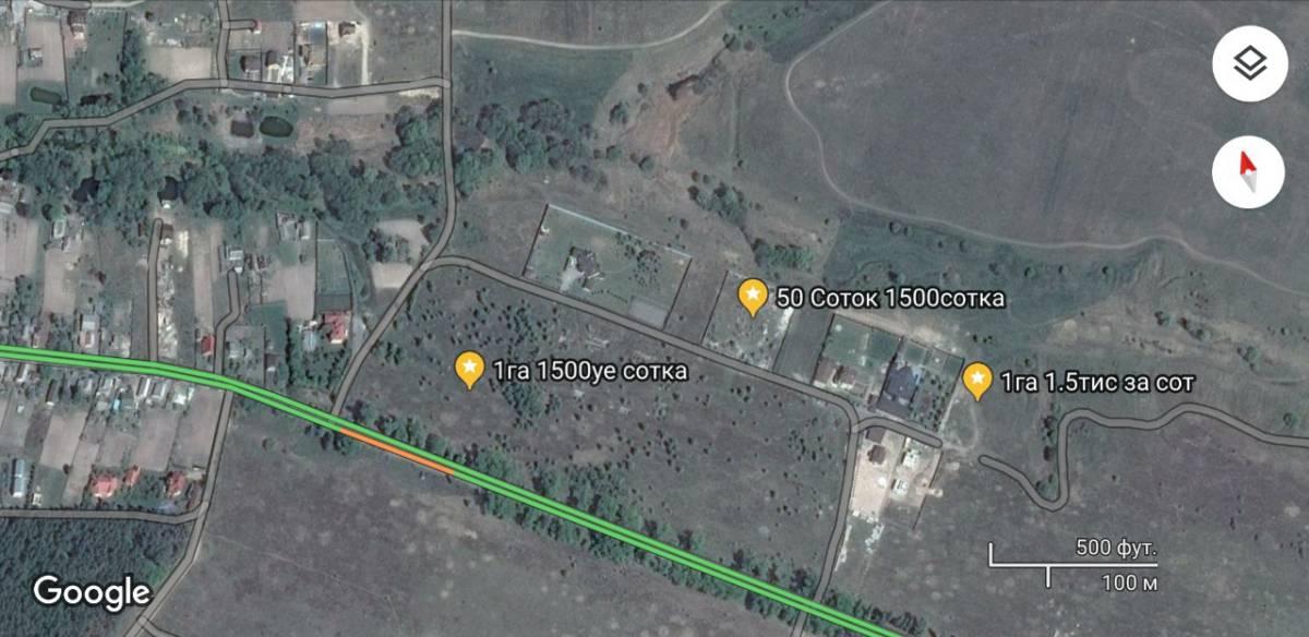 Продам 25 50 100 соток земли с. Белогородка 12км Киев рядом Боярка