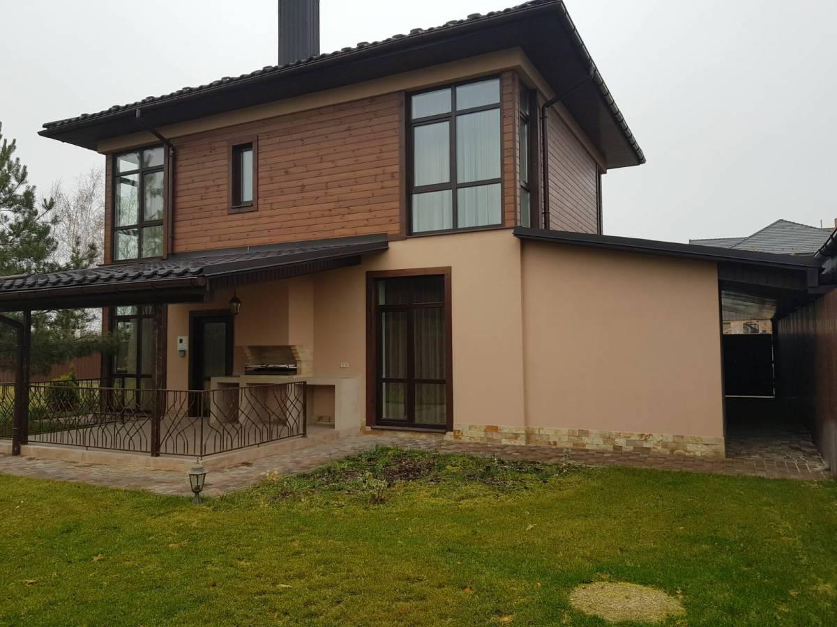 Продажа 3 дома 160 180 210 м2 с. Ходосовка 1.5км Лесники 7км Киев