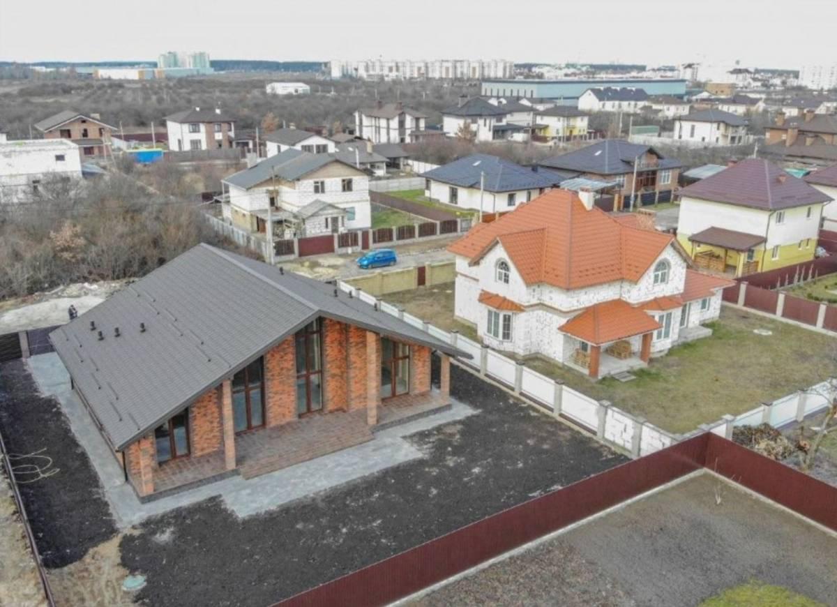 Продам 1 эт. 200 м2 дом с. Петропавловская Борщаговка 2 км Киев