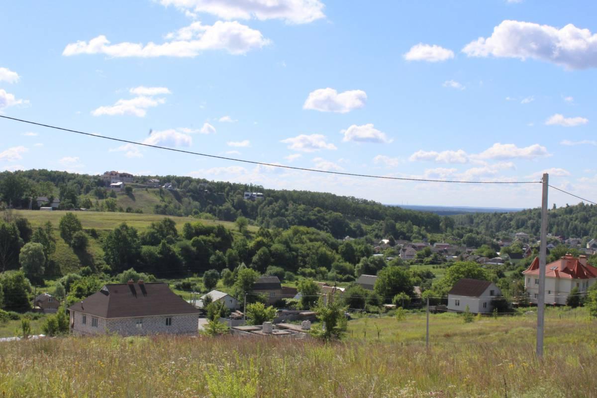 Продам панорамный земельный участок 87 соток с. Лесники 4 км Киев