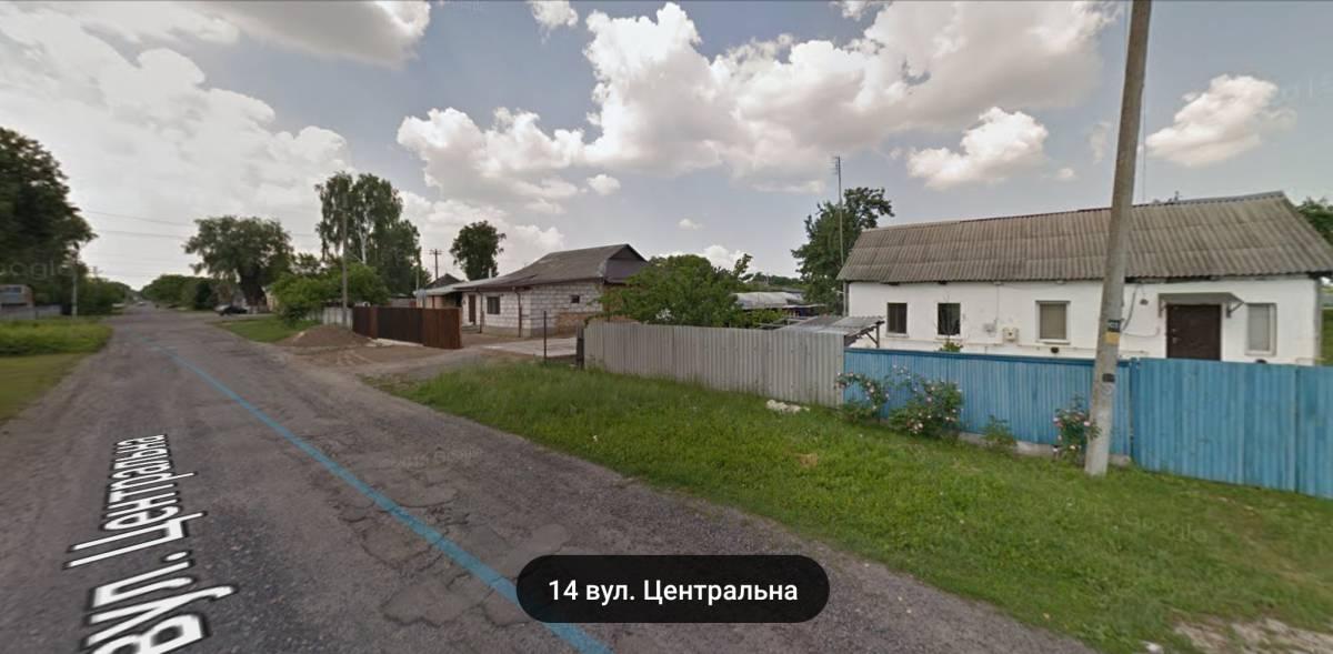 Продам 31сотку земли с домом с. Квитневое с/р Калиновка 1.5км Бровары