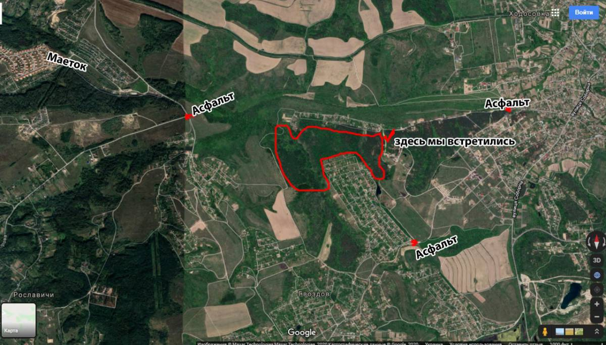 Продам 46 га земли в лесу с. Ходосовка / Гвоздов рядом Лесники
