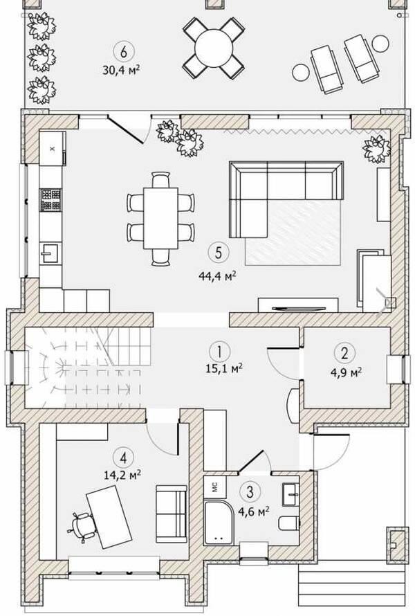 Продам дом 180 м2 + 60 м2 терраса закр городок с. Ходосовка (район Лесники Козин )